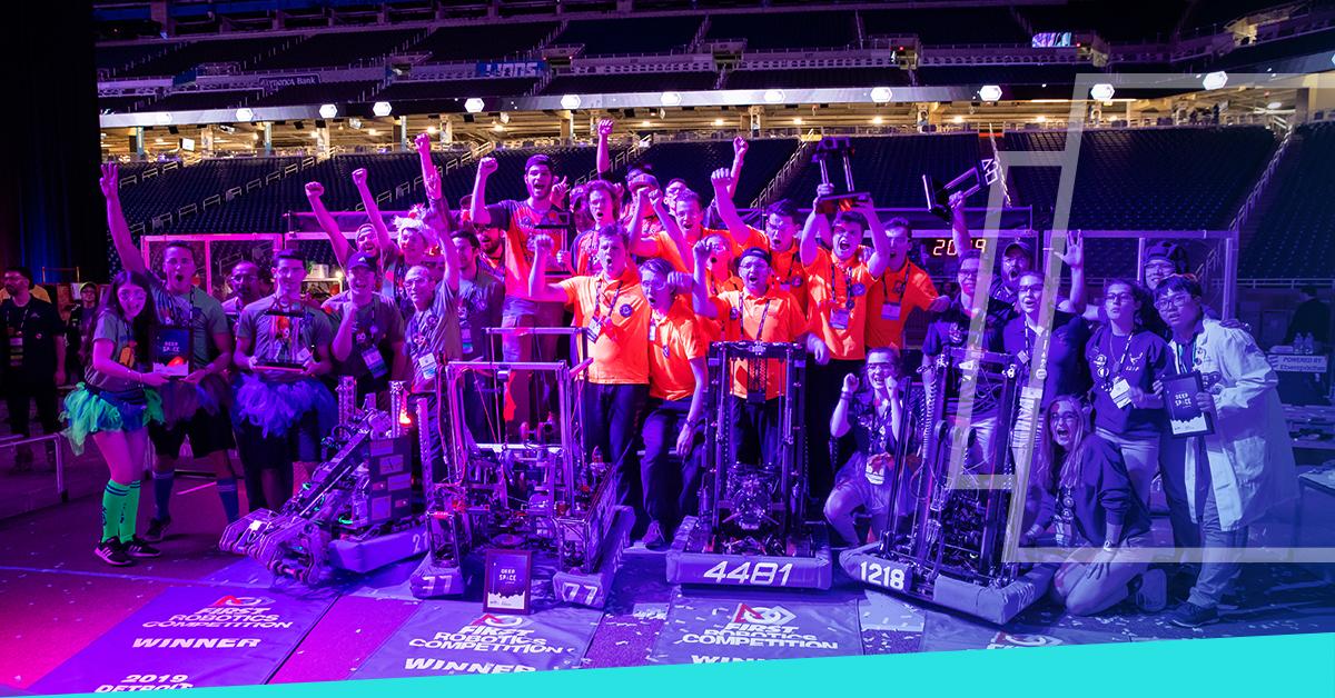 Studenten van de Robotica wedstrijd: gefeliciteerd! - Poly Products
